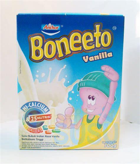 Lactogrow 4 Vanila 750g boneeto vanila 700g pabrik detil toko