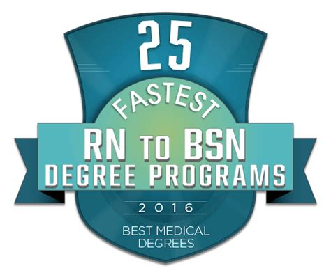 1 Year Rn To Bsn Program by 25 Fastest Rn To Bsn Degree Programs Bestmedicaldegrees