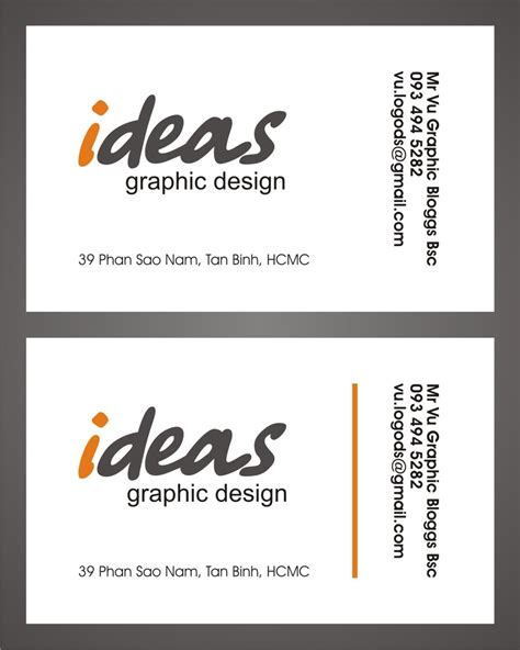 name card design by vugraphic on deviantart name card design by vugraphic on deviantart
