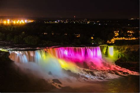 niagara falls at night niagara falls at night webjazba science technology