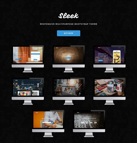 bootstrap themes gallery 19 fresh one page and landing page bootstrap theme collection