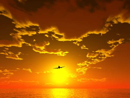 gold jet wallpaper going to the sun sunsets nature background wallpapers