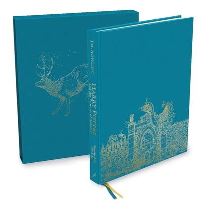 harry potter illustrated box harry potter and the prisoner of azkaban deluxe illustrated slipcase edition j k rowling