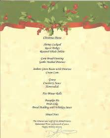 our eternal struggle soldiers home christmas dinner menu