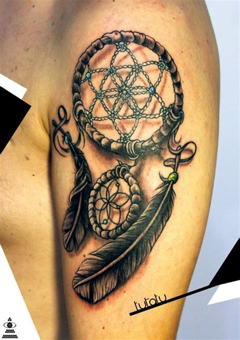 tattoo dreamcatcher old school quantum tattoo milano dreamcatcher by