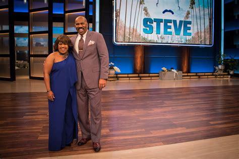 steve and tv shows chandra visits steve harvey s new tv show the steve show