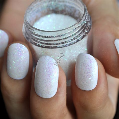 Pelembab Clear N Clear dazzling clear white nail glitter diy manicure small sequins powder n50 in rhinestones