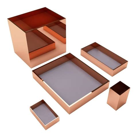 luxury office desk accessories modern luxury office accessories set incl trays pencil