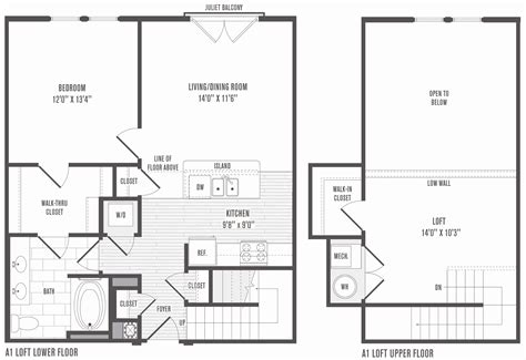 unique one bedroom house plans with loft house plan