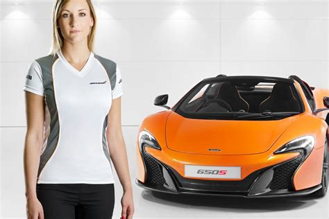 mclaren merchandise collection launches at goodwood