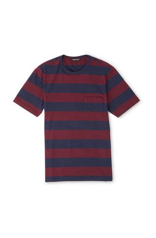 Kaos T Shirt Medium Stripe s clothing the fashion whistles