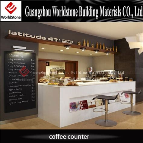 coffee shop counter design 2017 new coffee shop decoration led coffee shop counter