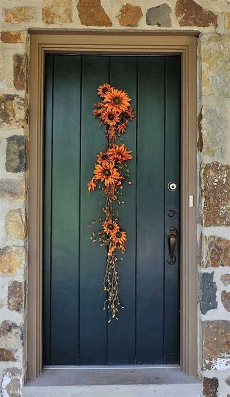 Floral Door Decorations by Diy Fall Door Decorations Wreaths Decoration And Doors