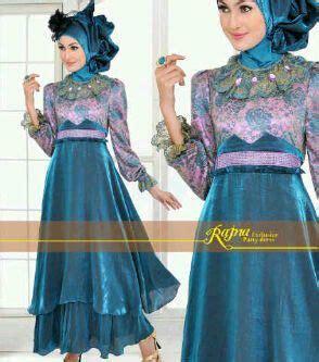 Baju Gamis Maxi Princess Green dresses kebaya and modern on