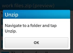 guide to getting it on unzipped how to zip and unzip files on your bb10 device blackberry
