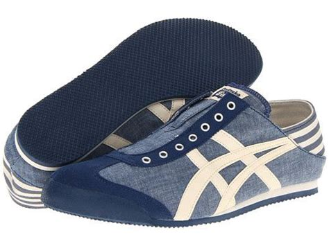 Sepatu Asics Onitsuka Tiger Deluxe Canvas 2 onitsuka tiger by asics mexico 66 paraty sneakers blue chambray for onitsuka