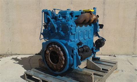 engine detroit diesel dt   engine complete good running  esn  bcn