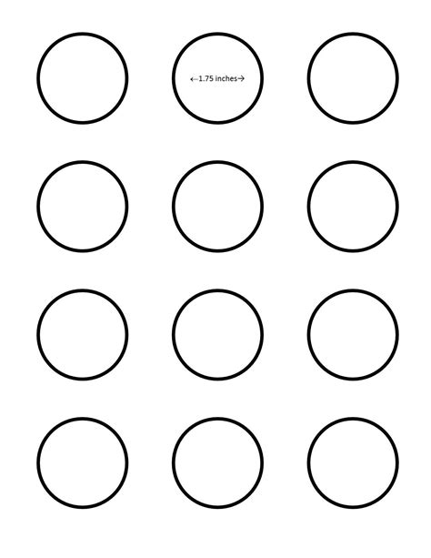 macaron template all sizes sugarywinzy 1 75 inch macaron template