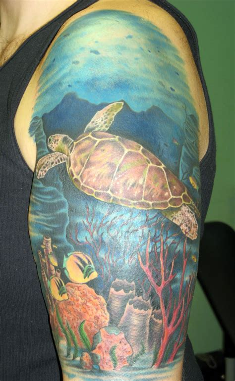 sea turtle tattoos green sea turtle tattoos cool tattoos bonbaden