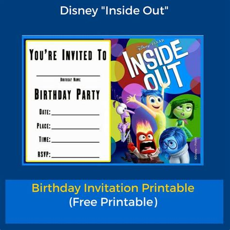 Sends Out Invites For Bday Bash by 1000 Images About Inside Out Ideas On