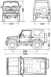Suzuki Measurements Suzuki Samurai Dimensions