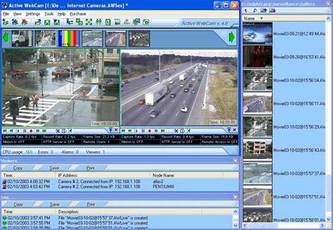 ip cam software software for webcams