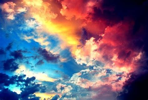color clouds cielo heaven multi colored skies image 619473 on