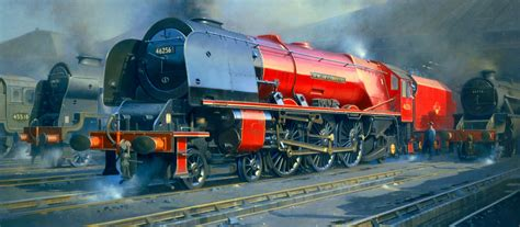painting trains railway paintings by philip d hawkins fgra