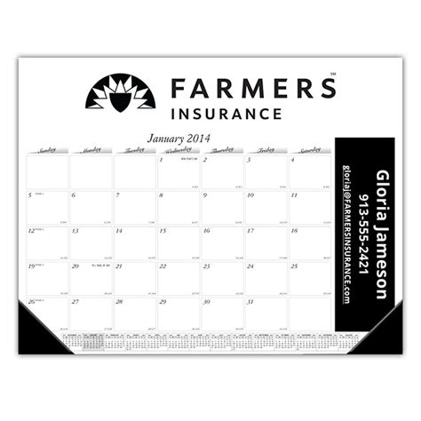 personalized desk blotter calendar rotary farmers desk calendar rotary club supplies
