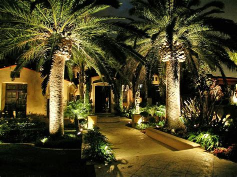 Landscape Lighting Ideas Trees Landscaping Lighting Ideas For Your Front Yard On A Budget