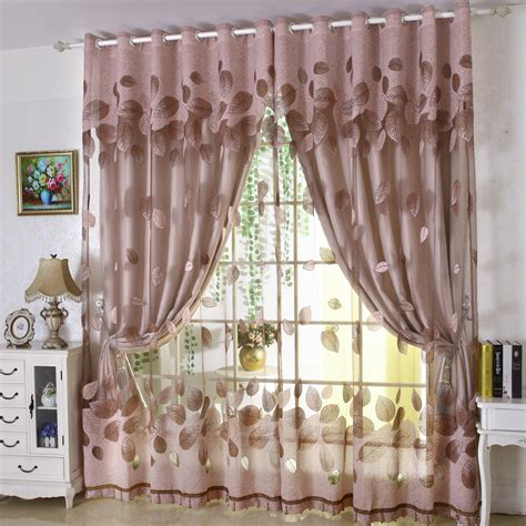 Online Get Cheap Sheer Curtain Sets Aliexpress Com