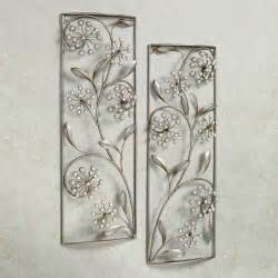 Aluminium Home Decor by Pearlette Metal Wall Art Panel Set