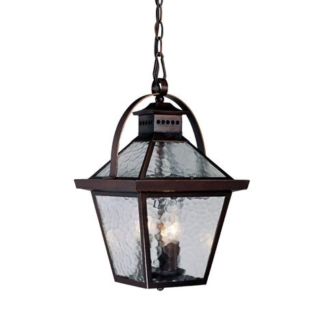 Outdoor Suspended Lighting Acclaim Lighting Richmond Collection 3 Light Matte Black Outdoor Hanging Lantern 5226bk The
