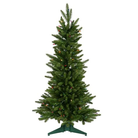 3 ft tree with lights 3 foot frasier fir tree multicolor lights a890737