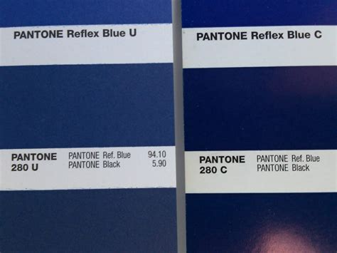 what is pantone coated vs uncoated color