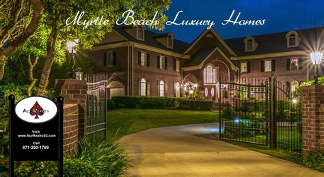 Myrtle Beach Luxury Homes And Properties For Sale Myrtle Luxury Homes
