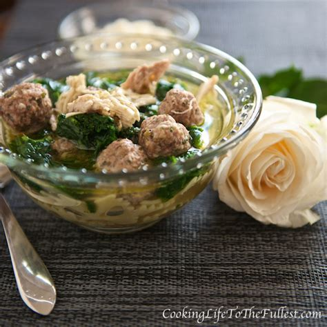 Italian Wedding Soup   Cooking Life to the Fullest
