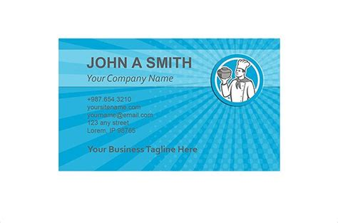 23 restaurant business card templates free premium