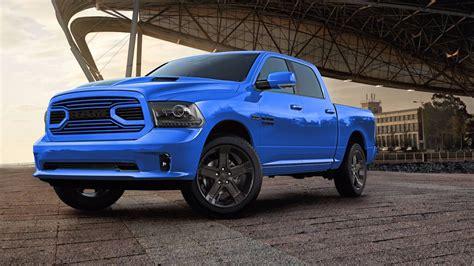 camioneta ram 2018 2018 ram 1500 hydro blue sport edition gets a racy