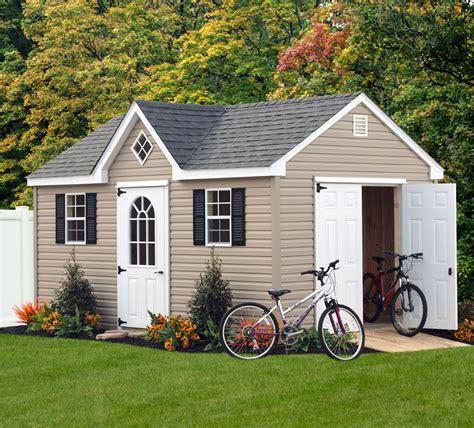 bayhorse gazebos barns dormer shed 12 x 14 vinyl