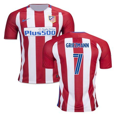 Raglan Atletico Madrid nike atletico madrid griezmann 7 soccer jersey home 2016