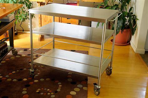 flytta kitchen cart ikea ikea flytta stainless steel cart rainydaymagazine