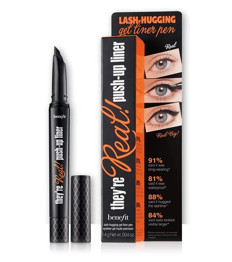 Eyeliner 2in1 24 Hours Eyebrow Powder Magic Eyeliner G they re real push up gel eyeliner benefit cosmetics