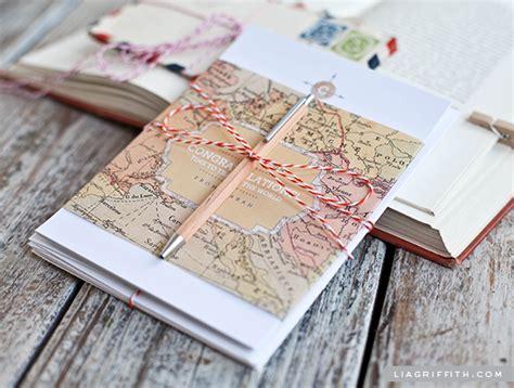 free printable stationery sets printable vintage map stationery