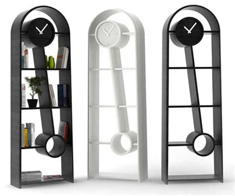 an time pendulum clock that can be used for shelving