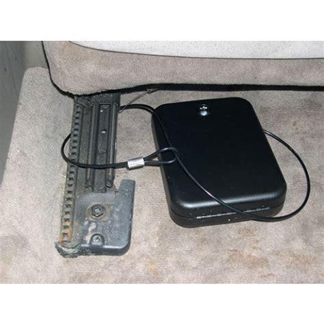 car seat gun safe in car large key lock portable handgun safe by gun vault