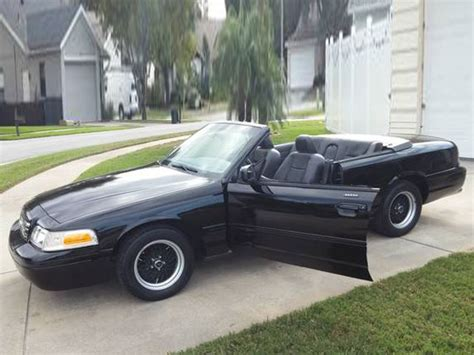 ford crown vic ford crown vic one of a two door convertible