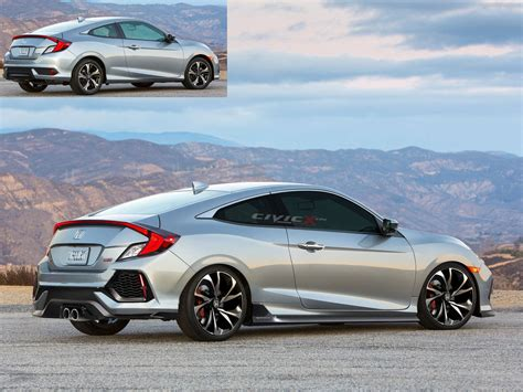 honda civic si coupe concept car interior design