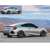 New 2017 Civic Si Coupe Render  2016 Honda Forum 10th Gen