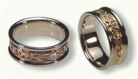 Story Rings wedding rings with engraved march 2016